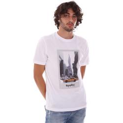 Abbigliamento Uomo T-shirt maniche corte Refrigiwear RM0T25500JE9101 Bianco