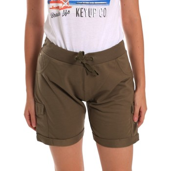 Abbigliamento Donna Shorts / Bermuda Key Up 5G75F 0001 Verde