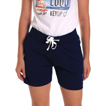 Abbigliamento Donna Shorts / Bermuda Key Up 5G38L 0001 Blu