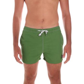 Abbigliamento Uomo Costume / Bermuda da spiaggia Key Up 298XM 0001 Verde