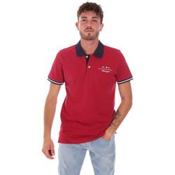 Abbigliamento Uomo Polo maniche corte Key Up 2G94Q 0001 Rosso