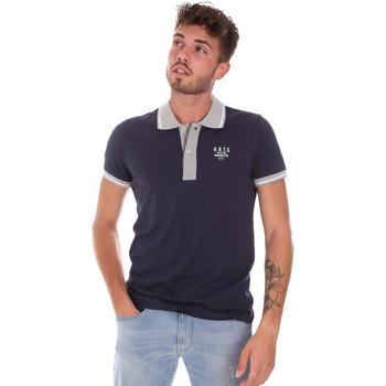Abbigliamento Uomo Polo maniche corte Key Up 2G87R 0001 Blu