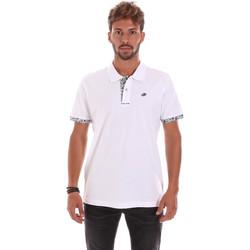 Abbigliamento Uomo Polo maniche corte Key Up 2R53G 0001 Bianco