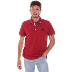 Abbigliamento Uomo Polo maniche corte Key Up 2Q60G 0001 Rosso