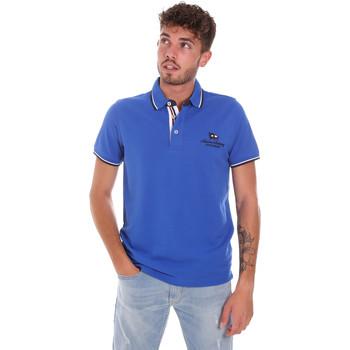 Abbigliamento Uomo Polo maniche corte Key Up 2Q60G 0001 Blu
