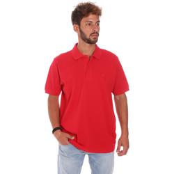 Abbigliamento Uomo Polo maniche corte Key Up 2800Q 0001 Rosso