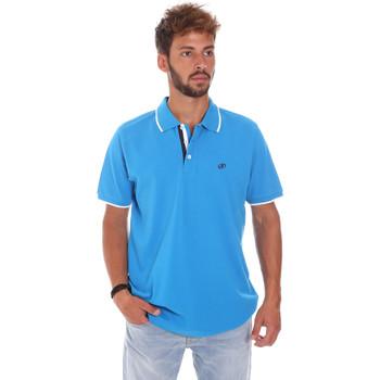 Abbigliamento Uomo Polo maniche corte Key Up 2Q711 0001 Blu