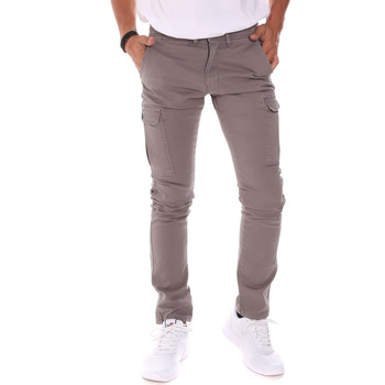 Abbigliamento Uomo Pantaloni Gaudi 021GU25005 Grigio
