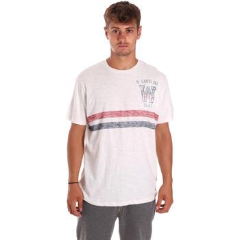 Abbigliamento Uomo T-shirt maniche corte Wrangler W7A69FE02 Bianco