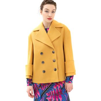 Abbigliamento Donna Cappotti Fracomina FR21WC1013W49301 Giallo