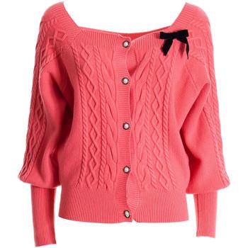 Abbigliamento Donna Gilet / Cardigan Fracomina FR21WT8017K45901 Rosa