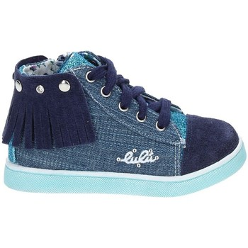 Scarpe Unisex bambino Sneakers Lulu LX070033T Blu