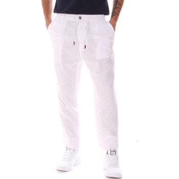 Abbigliamento Uomo Pantaloni Gaudi 911FU25018 Bianco