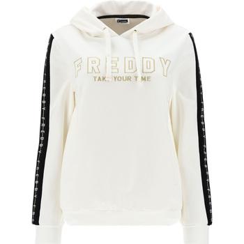 Abbigliamento Donna Felpe Freddy F1WCLS4 Bianco