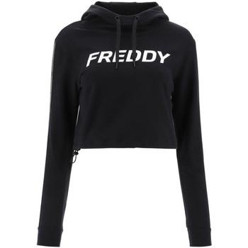 Abbigliamento Donna Felpe Freddy F1WFTS3 Nero