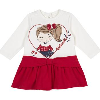 Abbigliamento Bambina Abiti corti Chicco 09003962000000 Rosso