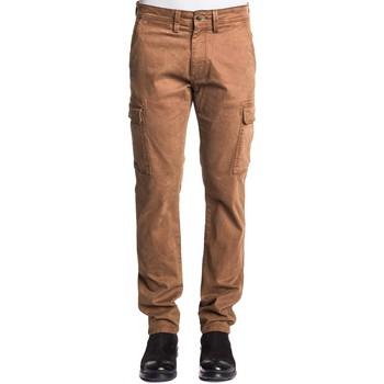 Abbigliamento Uomo Pantalone Cargo Gaudi 121GU25003 Marrone