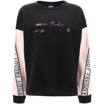 Abbigliamento Donna Felpe Freddy F1WSDS4 Nero