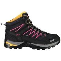 Scarpe Donna Trekking Cmp Rigel Mid Wmn WP Nero