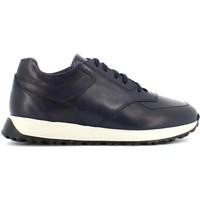 Scarpe Uomo Sneakers basse Antica Cuoieria sneakers uomo 22379-Z-VF9 ZURIGO BLU Pelle