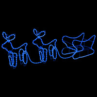Casa Decorazioni natalizie VidaXL Decorazione natalizia Blu