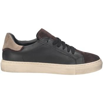 Scarpe Uomo Sneakers basse Made In Italia 133 Sneakers Uomo NERO/MARRONE NERO/MARRONE