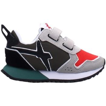 Scarpe Bambina Sneakers basse W6yz JET VL-J Sneakers Bambina VERDE/ROSSO VERDE/ROSSO
