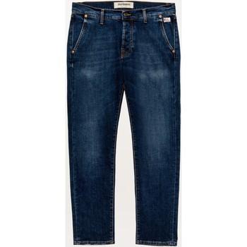 Abbigliamento Uomo Jeans dritti Roy Rogers ATRMPN-29834 Blu