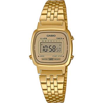Orologi & Gioielli Donna Orologio Digitale Casio LA670WETG-9AEF, Quartz, 25mm, 3ATM Oro