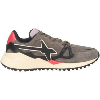 Scarpe Uomo Sneakers basse W6yz WOLF-M Sneakers Uomo MILITARE/NERO MILITARE/NERO