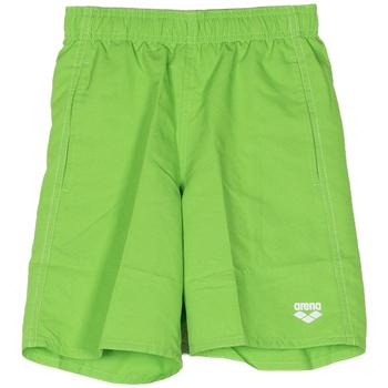 Abbigliamento Bambino Costume / Bermuda da spiaggia Arena COSTUME SHORT FUNDAMENTALS BAMBINO verde (63 GREEN)