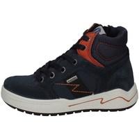 Scarpe Bambina Sneakers alte Imac 831818 BLU