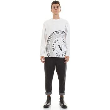 Abbigliamento Uomo Camicie maniche lunghe Versace Jeans Couture 71GAHT20-CJ00T Bianco