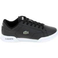Scarpe Sneakers basse Lacoste Twin Serv Jr Noir Blanc Nero