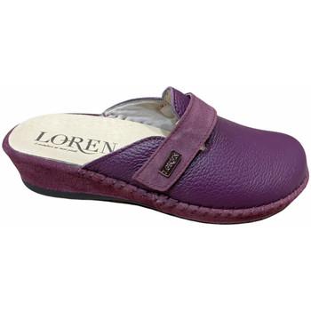 Scarpe Donna Zoccoli Calzaturificio Loren LOM2893pru blu