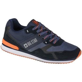 Scarpe Uomo Sneakers basse Big Star II174210 Nero, Blu marino