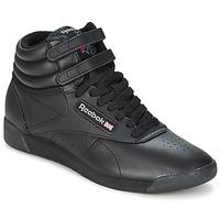 Scarpe Sneakers alte Reebok Classic FREESTYLE HI Nero