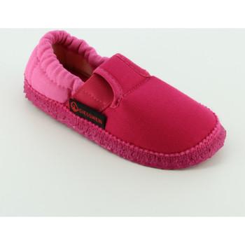 Scarpe Bambina Pantofole Giesswein 45633 pantofola chiusa Rosa