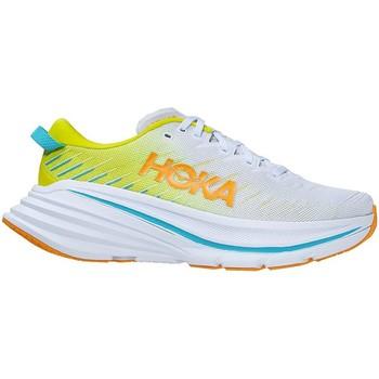 Scarpe Uomo Running / Trail Hoka one one BONDI X MEN'S White