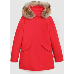 Abbigliamento Donna Giubbotti Woolrich WWOU0538FR rosso