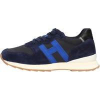 Scarpe Bambino Sneakers basse Hogan - J484 blu/azzurro HXC4840CY50QB5884Z BLU