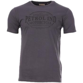 Abbigliamento Uomo T-shirt maniche corte Petrol Industries M-3010-TSR100 Grigio