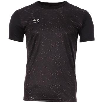 Abbigliamento Uomo T-shirt maniche corte Umbro 872760-60 Nero