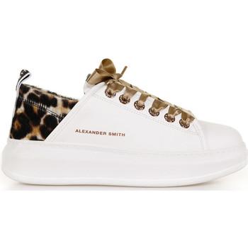 Scarpe Donna Sneakers basse Alexander Smith Sneaker Wembley White Sand