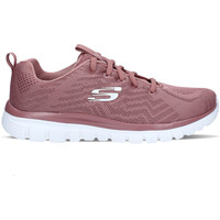 Scarpe Donna Sneakers basse Skechers Graceful Get Connected Rosa