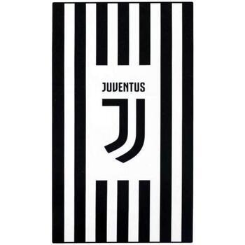 Casa Asciugamano e guanto esfoliante Juventus SG17208 Nero/Bianco