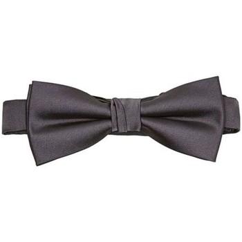 Abbigliamento Uomo Cravatte e accessori Selected 16033669 NIGHT BOWTIE-MID GREY grigio