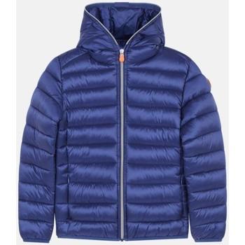 Abbigliamento Bambina Giacche Save The Duck J32310G IRIS13 - IRIS-90000 NAVY BLUE blu