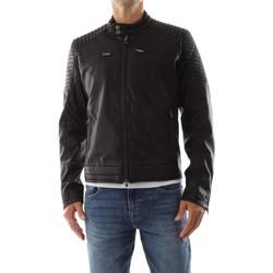 Abbigliamento Uomo Giacche Bomboogie JMNYCE T PU2-90  BLACK nero