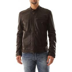 Abbigliamento Uomo Giacche Bomboogie JMTHOR P LGS-14 DARK BROWN marrone